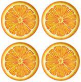 Vaatwerk van het Ontwerp van de Plak van de Plaat van de Salade van de melamine het Oranje voor Volwassenen of Kinderen