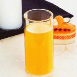 Modificar la taza recta de la taza de la insignia del regalo de la taza de la leche de la taza de la taza para requisitos particulares de cristal del jugo