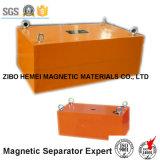 Séparateur magnétique permanent de suspension pour la courroie