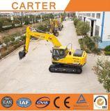 Excavatrices lourdes multifonctionnelles chaudes de pelle rétro de chenille des ventes CT200-7A (20T)