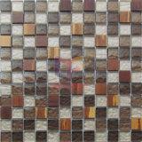 Telha de cristal do mosaico da mistura de bambu (CFC644)