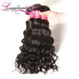 Heiße Verkaufs-zutreffende Längen-indisches unverarbeitetes natürliches Wellen-Jungfrau-Haar
