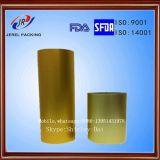 Folha de Alu com o lado superior soldado à película plástica do PVC e à folha impressa parte externa de Alu