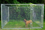 チェーン・リンクの大きい屋外の金属の繁殖のケージ犬