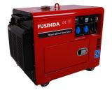 공기에 의하여 냉각되는 디젤 엔진을%s 가진 침묵하는 닫집 유형 4.5kVA 디젤 엔진 발전기