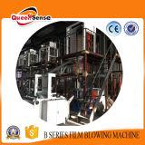 LDPE 부대를 인쇄하는 t-셔츠를 위한 세륨 증명서를 가진 HDPE에 의하여 불어지는 필름 밀어남 기계