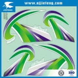 De Overdrukplaatjes van de sticker voor De e-Fiets van de Auto Motorfiets