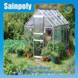 Niedriger Preis-ausgeglichenes Glas-Garten-Gewächshaus