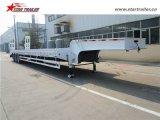 Самый лучший продавая трейлер палубы палубы падения емкости 60ton низкий Semi