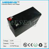 12V 7.5ah LiFePO4 Batterie-Wiedereinbau-Lead-Acid Batterie