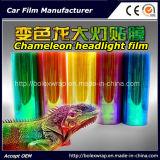 형식 카멜레온 헤드라이트 필름, 차 색깔 변경 필름 차 빛 스티커, 카멜레온 차 가벼운 색을 칠하는 필름