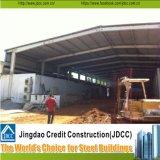 Almacén prefabricado de la estructura de acero del diseño de acero de la construcción de la estructura