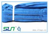 파란 폴리에스테 끝없는 유형 둥근 새총 (