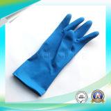Перчатки латекса анти- кисловочной защитной работы водоустойчивые с ISO9001 одобрили для работы