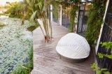 Nuova mobilia esterna di vimini del salotto di Sun della parte girevole di disegno 360