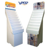 Crémaillère pliable de présentoir de carte de voeux de papier cartonné de Corruagted