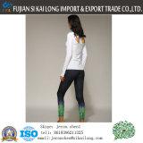 Pantaloni delle donne di sport per l'abitudine all'ingrosso di Legging di yoga corrente