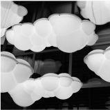 Weißes AcrylHaning, das moderne Wolken-Form-hängende Lampe beleuchtet