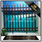 Painéis de esgrima de estilo clássico Cerca de jardim de alumínio com alta segurança