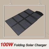 Carregador 100W 2X4 solar de dobramento de acampamento do produto novo que dobra-se para a venda