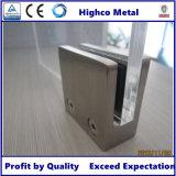 Morsetto di vetro dell'acciaio inossidabile per il corrimano e la balaustra dell'inferriata della scala