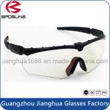 Del marco estupendo de calidad superior de la luz Tr90 de Eyewear claridad militar alto de las gafas de seguridad del Shooting de la opinión de la noche del día de la visión