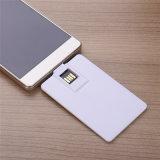 クレジットカードのSmartphone 8GB USBのフラッシュ駆動機構のメモリ棒