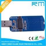 Mini codificador dominante del módulo 13.56MHz del programa de escritura del programa de lectura del USB RFID para la Seguridad Social
