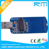 Mini codificador chave do módulo 13.56MHz do escritor do leitor do USB RFID para a segurança social