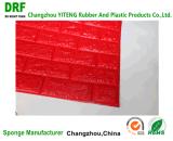 Papel de parede autoadesivo do painel de parede 3D da superfície macia da superfície