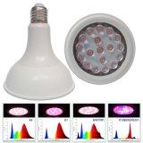 el bulbo de 15W LED crece la luz
