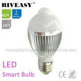5W LED 감응작용 빛 LED 전구