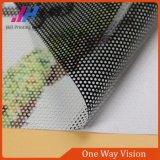 Pantalla unidireccional de la ventana de la visión con fuerza extensible