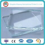 vidro de flutuador desobstruído do ferro de 5mm baixo (vidro ultra desobstruído)