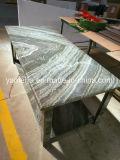 Pedra de mármore natural com o painel de alumínio do favo de mel para tabelas
