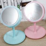 Lámpara cosmética del espejo con la lámpara giratoria plegable ligera del espejo del maquillaje con la luz para señora Makeup Bedroom Mirror Lamp