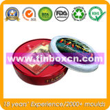 Rechteckiges Geschenk-Zinn für den verpackenden Uhr-Zinn-Kasten, Blechdose