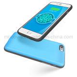 Mooov Blau ultra dünner iPhone Fall mit der Kapazität 2400mAh für iPhone 6 Plus/6s plus