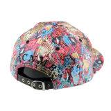 多彩な6つのパネルPUの急な回復の帽子