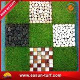 Естественный взгляд блокируя искусственную пластичную циновку травы для спортивной площадки детей