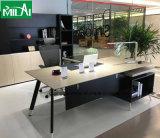 方法&Simpleの容易なアセンブルのオフィス用家具マネージャの机の金属のフィート