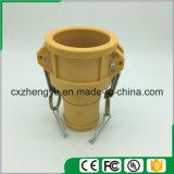 Accoppiamenti di plastica/rapidamente del Camlock accoppiamenti (Tipo-c), colore giallo