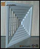 Grade de ar quadrada do difusor do teto da maneira da qualidade 1-4