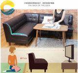 Sofà di cuoio sezionale con l'alta qualità per la mobilia della stanza della base dell'hotel