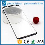 De in het groot Beschermer van het Scherm van het Glas van het Af:drukken van de Zijde voor Samsung S8