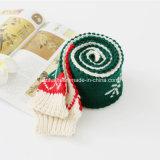 Fornitori all'ingrosso sciarpa lavorata a maglia inverno, abitudine della Cina della fabbrica della sciarpa del regalo della sciarpa di natale piccola