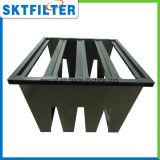 Kleur V van Balck Filter van de Lucht van het Frame van de Bank de Plastic