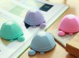 Enveloppe de tortue d'écouteur de stand de chapeau d'aspiration de silicones