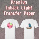 Fer sur le papier d'imprimerie de transfert thermique pour le papier Cotton/A4 léger