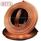 Tubo suave del cobre del genio para la HVAC